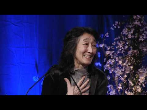 Mitsuko Uchida receives RPS Gold Medal - 8 May 2012, London (AUDIO FIXED)