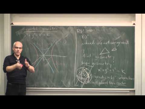 MathHistory12: Non-Euclidean geometry