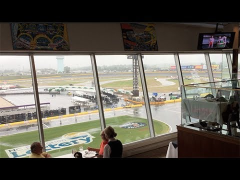Special Lunch At Charlotte Motor Speedway at the Elegant Speedway Club