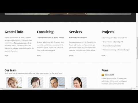 College Education Website Template