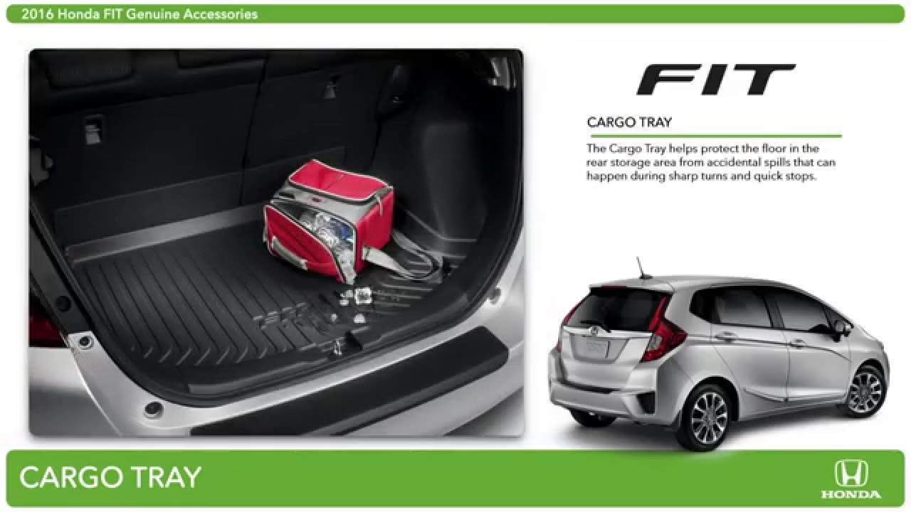 2016 Honda Fit Accessories - YouTube