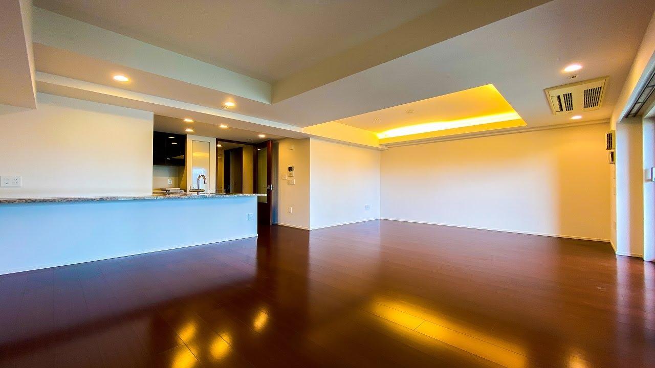 【高級マンション】高級感のある間接照明付きのお部屋。大規模再開発の進む虎ノ門エリアの分譲マンション。「ザ・パークハウス愛宕虎ノ門」