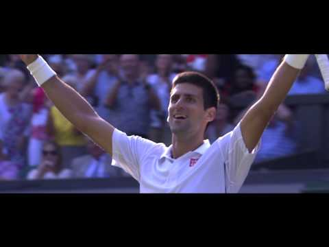 December 21st: Djokovic wins 2nd Championships at Wimbledon