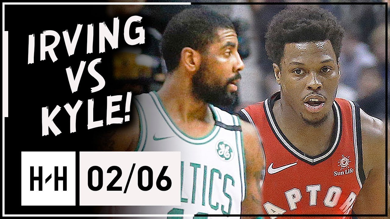 Kyle Lowry vs Kyrie Irving All-STAR Duel Highlights 2018.02.06 Celtics vs  Raptors - 23 Pts for Kyle! fa83157a4