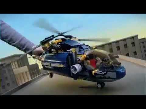 LEGO 8970 Robo Attack - LEGO 8971 Aerial Defense Unit - LEGO Agents