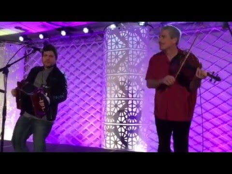 Brandon Miller Duo at Travel South USA breakfast