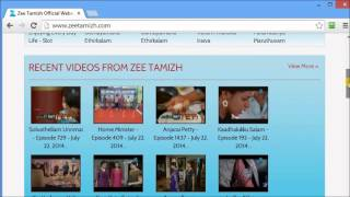 How to download from zeetamizh.com