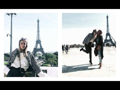 PARIS VLOGG - VI ÄR GOSSIP GIRL│ LOUISE JORGE