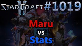StarCraft 2 - Replay-Cast #1019 - Maru (T) vs Stats (P) - WCS Global Finals 2019 [Deutsch]