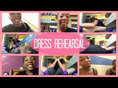 Day #16 Dance Theatre of Harlem SI: Dress Rehearsal | Life As Gabi♡♡♡