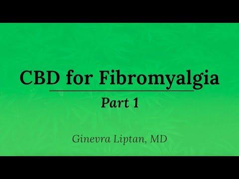 how much cbd for fibromyalgia