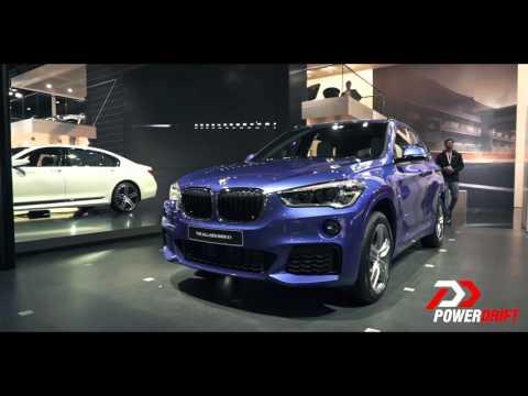 BMW X1 : Auto Expo 2016 : PowerDrift