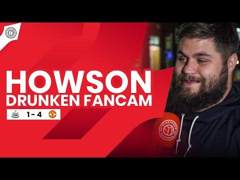 Howson's Drunk Fancam!! | Newcastle Utd 1-4 Manchester Utd
