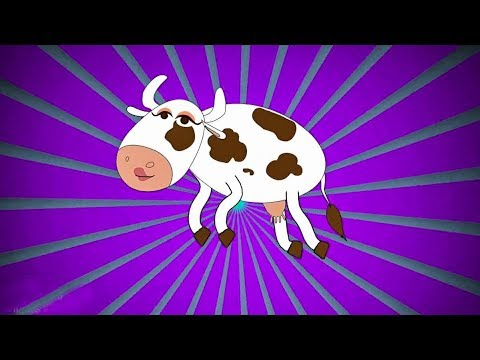 La Vaca Lechera   Y muchas más canciones infantiles   ¡37 min de Lunacreciente!