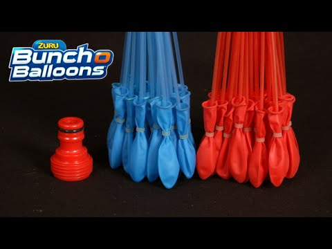 Water balloon hose hook up