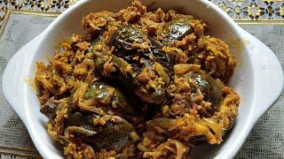 YouTube Per Pehli Bar Baigan Bhozar Recipe | Baigan Bhozar Konkani Recipe | Ghare's kitchen