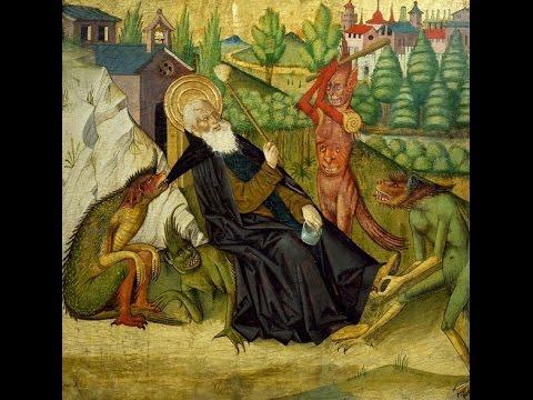 Αποτέλεσμα εικόνας για Ο Μέγας Αντώνιος και η συνομιλία του με το δαιμόνιο (vid)