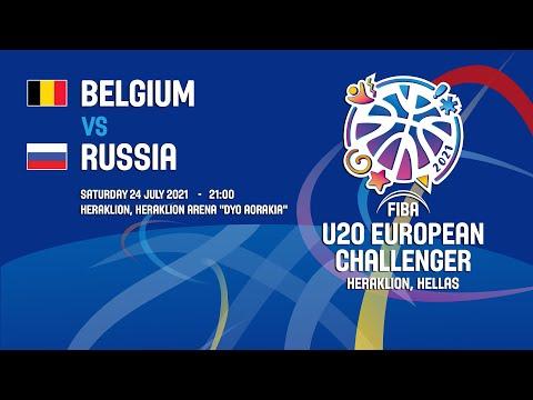Belgium - Russia | 24/07/2021 - FIBA U20 European Challenger 2021