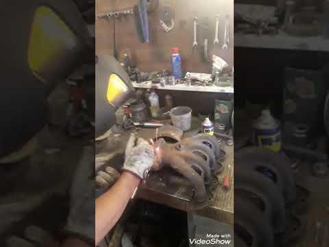 Удаление и ремонт катализатора Opel Zafira B