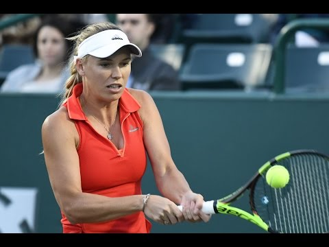 2017 Volvo Car Open Round of 16 | Caroline Wozniacki vs Anastasia Rodionova | WTA Highlights
