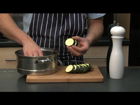 Comment cuire des l gumes la vapeur gourmand youtube for Cuire a la vapeur