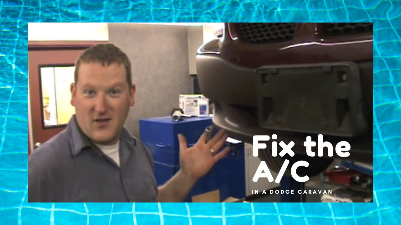 How to Repair a Dodge Caravan Air Conditioning System  YouTube