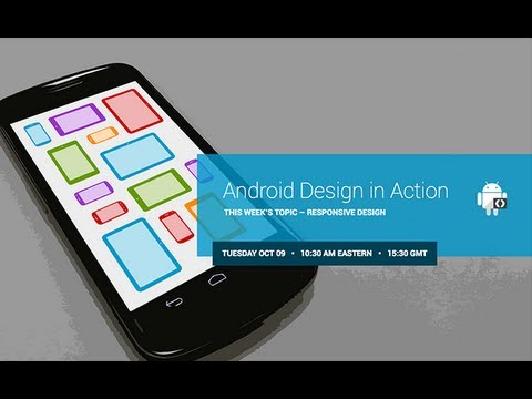 Android Design In Action: Responsive Design