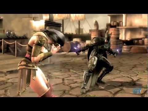Injustice: Gods Among Us - Battle Arena: Batman vs Wonder Woman