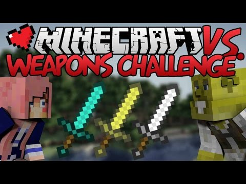 Weapons Challenge | Minecraft VS. Ep 6