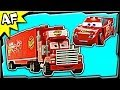 Lego Cars MACK's TEAM TRUCK 8486 Stop Motion Set Review