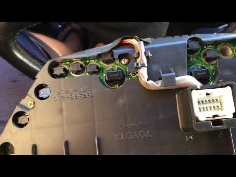 How To Remove/Install Led To Lexus Is300 Gauge Cluster/Ignition LED Update #7