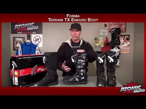 Atomic Moto by Review TX Forma Terrain Enduro Boots H29EDI