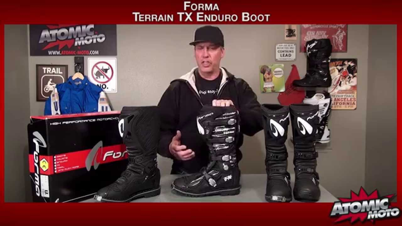Forma Terrain TX Enduro Boots Review by