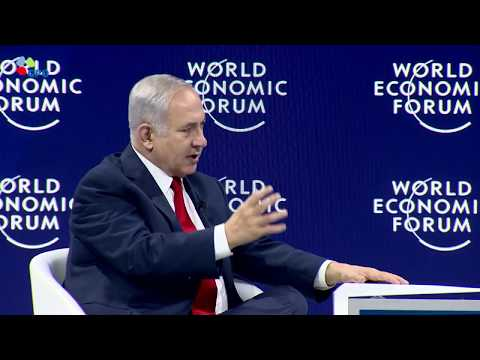 PM Netanyahu At the World Economic Forum in Davos