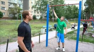 Подтягивание на одной руке (урок)