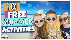 10 Fun FREE Kid Activities    Summer Boredom Hacks for KIDS