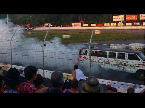 The Gauntlet (2014 Crashorama / Crashocolypse at Lake County Speedway)