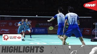 Fuzhou China Open 2019 | Round of 16 MD Highlights | BWF 2019