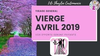 🌺VIERGE ♍  Mois d'Avril 2019  🍀 Vos Efforts seront Payants🍀