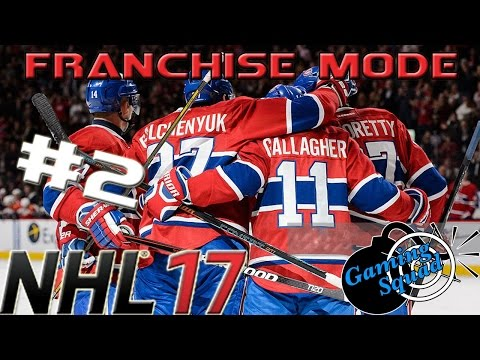 CRAZY HOME OPENER - NHL 17 - Franchise Mode - Montreal Canadiens- [Episode #2]