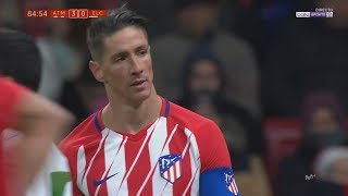 Fernando Torres vs Elche Home 17-18 HD 720p