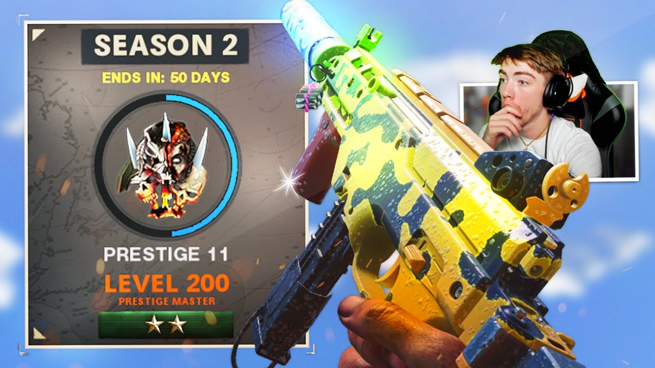UNLOCKING NEW PRESTIGE MASTER REWARDS! LEVEL 200 PRESTIGE MASTER IN COLD WAR WARZONE! (SEASON 2)