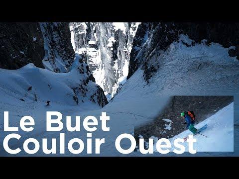 Le Buet Voie Normale et Grand Couloir Ouest Aiguilles Rouges Chamonix Mont-Blanc ski de randonnée