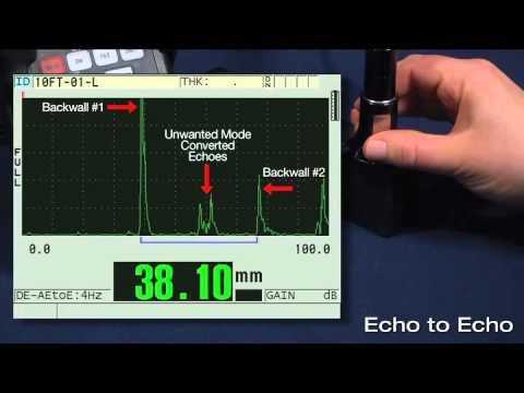38DL PLUS Echo to Echo vs.Thru-Coat