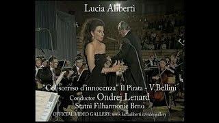 """Lucia Aliberti """"Col sorriso d'innocenza"""" Il Pirata -V.Bellini,Conductor Ondrej Lenard"""