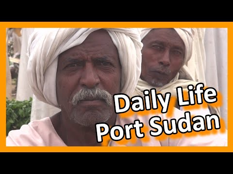 Sudan - Daily life in Port Sudan