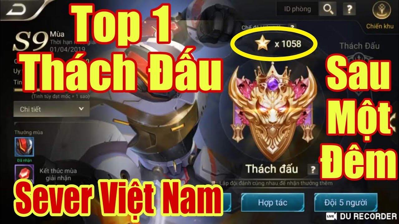 [Gcaothu] Lên top 1 thách đấu sau 1 đêm – Nhảy 1000 sao thách đấu chỉ với 15 tướng