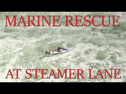Surf Rescue at 2016 Paddlefest in Santa Cruz