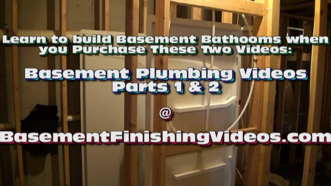 basement wiring diagram opel corsa b electrical how to frame and plumb a bathroom youtube