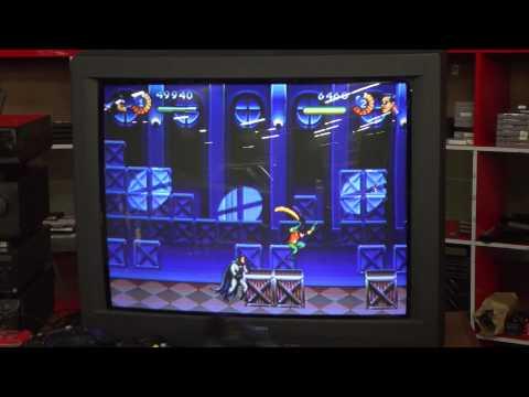 Classic Game Room - THE ADVENTURES OF BATMAN & ROBIN review for Sega Genesis